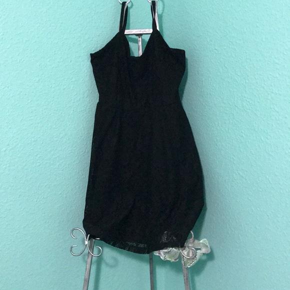 No Boundaries Dresses & Skirts - Lace black dress!